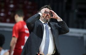 """A.Trinchieri apie svarbiausią """"Bayern"""" ataką: """"Taip gali arba bepročiai, arba išties ypatingi"""""""