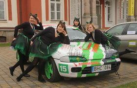 """""""Gatas Verdes"""" komanda """"Moterų ralyje"""": vėjo nuplėštos """"ausys"""" ir pačias nustebinęs rezultatas"""
