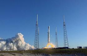 """Po atidėjimo """"SpaceX"""" sėkmingai iškėlė NASA sukurtą egzoplanetų medžiotoją"""