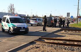 Panevėžyje žuvo su traukiniu susidūrusi dviratininkė