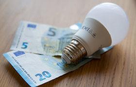 Lapkritį elektra Lietuvoje brango 9 proc.