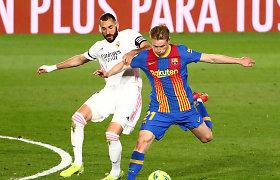 """""""El Clasico"""" derbis: Madrido """"Real"""" – """"Barcelona"""""""