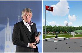 Lukiškių aikštės architektas: įsivaizdavau, kad būsimo memorialo autoriai tęs pradėtus darbus
