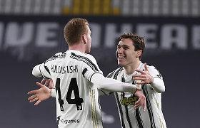 """""""Juventus"""" ir be Cristiano Ronaldo triuškino varžovus"""