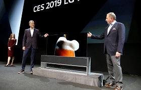 Susivyniojantis LG televizorius kainuos kaip naujas prabangus automobilis