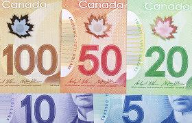Kanada vasarį vėl fiksavo prekybos perteklių