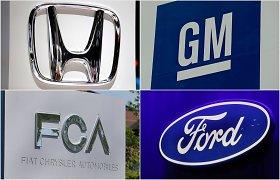 Automobilių gamintojos priverstos lėtinti gamybą JAV dėl pasaulinio lustų trūkumo