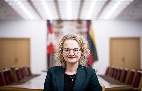 A.Armonaitė: jauniausia kandidatė į ministrus, politinį kelią pradėjusi dar mokykloje