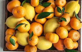 Vitaminų pilni vaisiai sustiprins šaltuoju laiku: 5 sezoninės žvaigždės ir receptai
