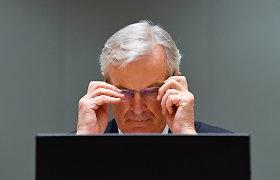 """Michelis Barnier: Europos Sąjunga suteiks """"Brexit"""" deryboms """"paskutinį postūmį"""""""
