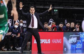 """CSKA treneris – apie tikrąjį """"Žalgirio"""" veidą bei didžiulį R.Jokubaičio potencialą"""