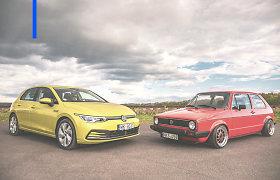 """""""Deals on Wheels"""". 47 metai su """"VW Golf"""": kur jo sėkmės paslaptis?"""
