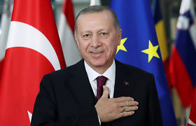 R.T.Erdoganas: Ukrainos ir Rusijos krizė turi būti išspręsta taikiai