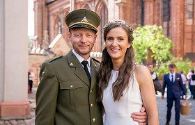 """Tomas Balžekas ir jo žmona Andrė Balžekienė susilaukė sūnaus: """"Esame labai laimingi"""""""