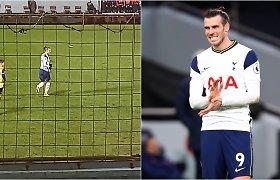 Netikėta galimybė: futbolo sirgalius Garethą Bale'ą stebėjo tiesiai iš savo balkono