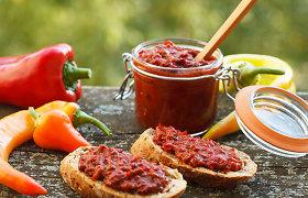 Išbandykite – lietuviškų daržovių čatniai. 3 receptai