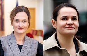 Laisvės premiją galėtų atsiimti S.Cichanouskaja, sako V.Čmilytė-Nielsen