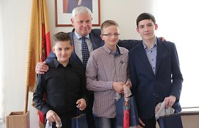 Lietuvos narystės Europos Sąjungoje bendraamžiams – Klaipėdos mero sveikinimai