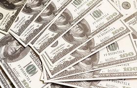 JAV doleris pinga pagrindinių valiutų atžvilgiu
