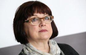 """""""RB Rail"""" stebėtojų taryba spręs dėl Baibos Rubesos likimo"""