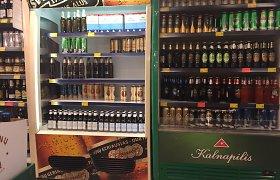 Šilalės parduotuvėje neblaivus vyras išdaužė alaus butelius ir kitas prekes