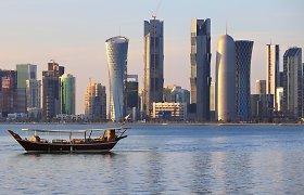 Egiptas ir JAE po trejų metų pertraukos atnaujino tiesioginį susisiekimą oru su Kataru