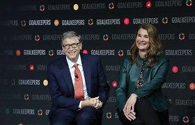 Po 27 metus trukusios santuokos skiriasi Billas ir Melinda Gatesai
