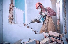 Per karantiną remonto niekas nedraudžia: dirbti ir mokytis triukšme nepajėgiantiems vilniečiams siūlo tartis su kaimynais