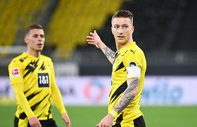 """Čempionų lyga aplenks Dortmundą? """"Borussia"""" laimėjo, bet tolsta nuo tikslo"""