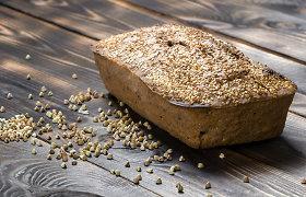 3 kepiniai be gliuteno ir pieno produktų: grikių duona, picos padas ir nesudėtingas braunis