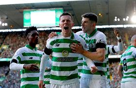 """Škotijoje sezonas oficialiai baigtas: """"Celtic"""" – čempionai, """"Hearts"""" – į žemesnę lygą"""
