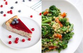 auGalingas iššūkis: bolivinė balanda su daržovėmis ir tofu pyragas su uogomis