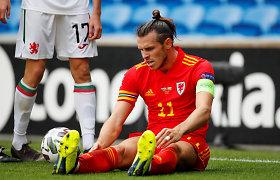 Brokuota prekė: Garethas Bale'as į Londoną atvyko traumuotas