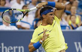 Rafaelis Nadalis žengė į Sinsinačio turnyro ketvirtfinalį