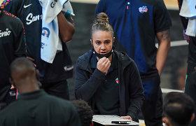 Ledai pralaužti, bet problema išlieka: kada moteris trenerė vyrų sporte nebebus sensacija?