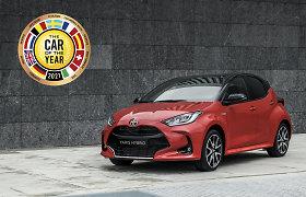 """Naujasis """"Toyota Yaris"""" pelnė prestižinį apdovanojimą – tapo Europos metų automobiliu 2021"""