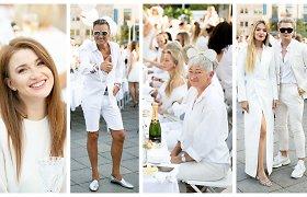 Baltos spalvos magija sugrįžo į Vilnių: V.Kudirkos aikštėje susirinko daugiau nei 1000 puošnių žmonių