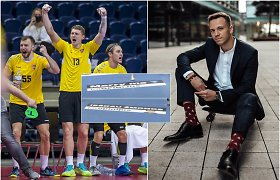 Lietuvos ir Islandijos rankinio varžybose – žmonos paieškos: lietuvis federaciją parėmė originaliu būdu