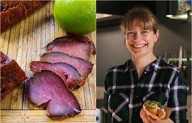"""""""Bulvių košės"""" receptas: vytinta kiaulienos išpjova su žaliąja citrina ir džinu"""