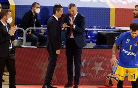 """Iš """"Maccabi"""" trenerio lūpų – linksma istorija apie Šarą ir padėka ypatingam lietuviui"""