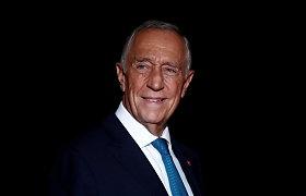 Portugalijos prezidentas užsikrėtė koronavirusu