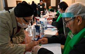 Sakartvele vyksta parlamento rinkimai