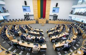 Seimas ir toliau nori slėpti politikų duomenis: iki įstatymo priėmimo liko vienas žingsnis