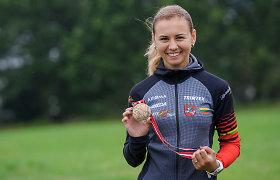 G.Andrašiūnienei – pasaulio orientavimosi sporto kalnų dviračiais čempionato bronza