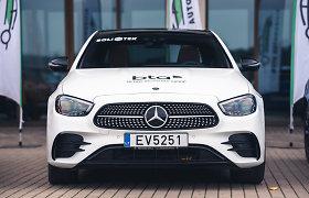 """Pretendentas tapti """"Lietuvos metų automobiliu 2021"""": """"Mercedes-Benz E 300 e 4MATIC"""""""