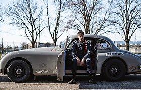 """Karolis Raišys: virusas sustabdė Monte Karlo ralį, bet ne mano """"Jaguar"""""""