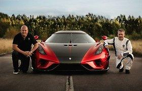 """Kaip ant """"Koenigsegg"""" automobilių atsirado vaiduoklis"""