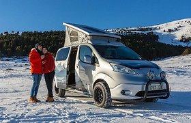 """Nissan"" koncepcinis kemperis ""e-NV200 Winter Camper"""