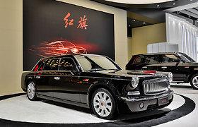 """Brangiausias kiniškas automobilis – limuzinas """"Hongqi L5"""""""