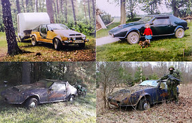 """Iškastas iš žemės: kaip buvo surastas lietuviškas savadarbis automobilis """"Samadelka"""""""